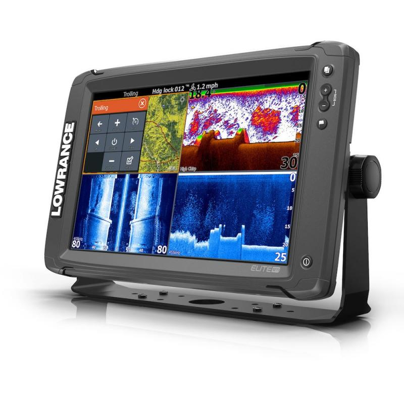 LOWRANCE Elite12Ti2 3In1振動子